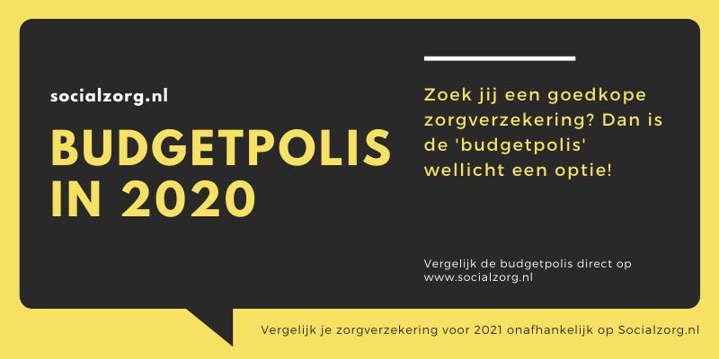 Goedkoopste budgetpolis 2021 vergelijken